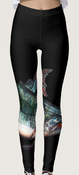 Image of Salmon Leggings Black