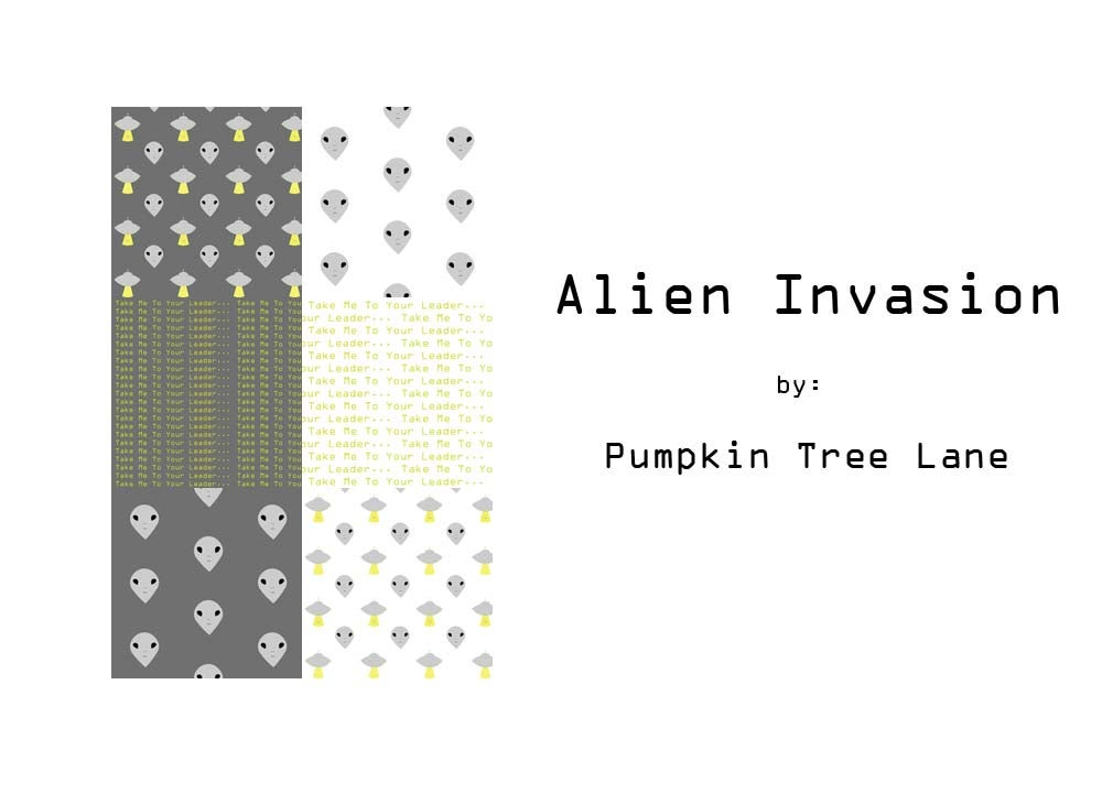 Image of Alien Invasion Fat Quarter Set