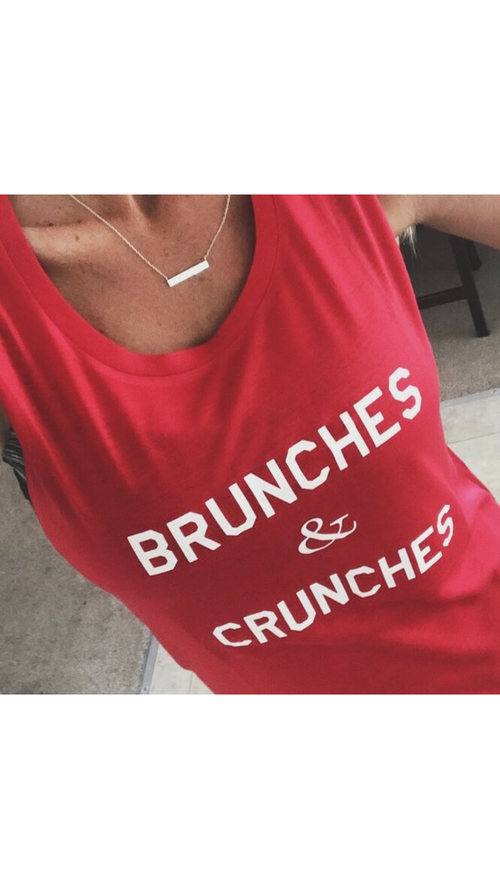 Image of BRUNCHES & CRUNCHES - muscle tanks