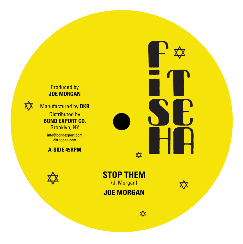 "Image of Joe Morgan - Stop Them / Warrior 12"" (Fish Tea)"