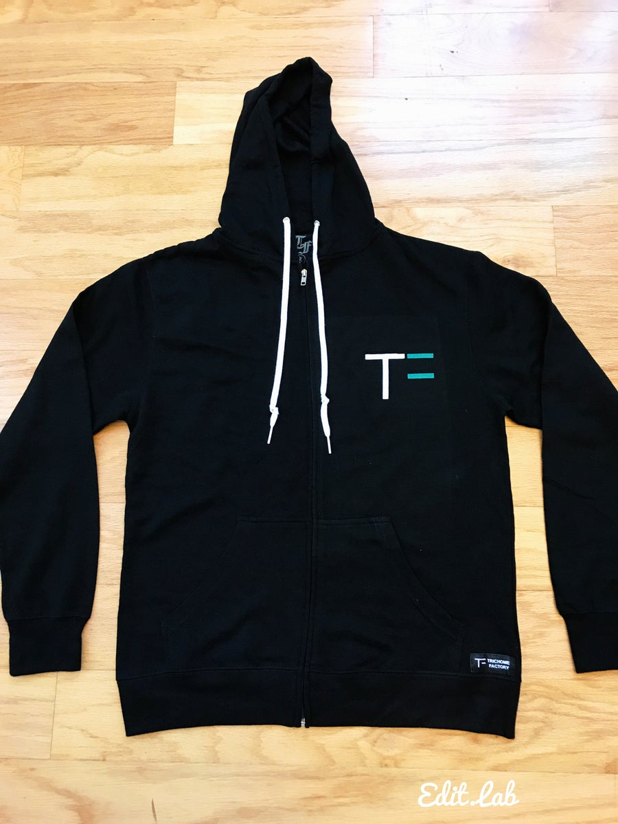 Image of Camp Trichome Zip Up Hoodie