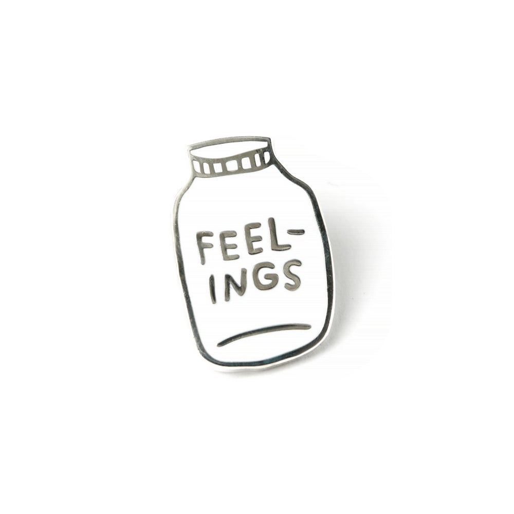 Image of FEELINGS Enamel Pin
