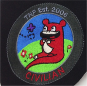 Image of 'Just another dumbass civilian' Orange Ver. Patch
