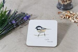 Image of Dickie Bird Melamine Coasters