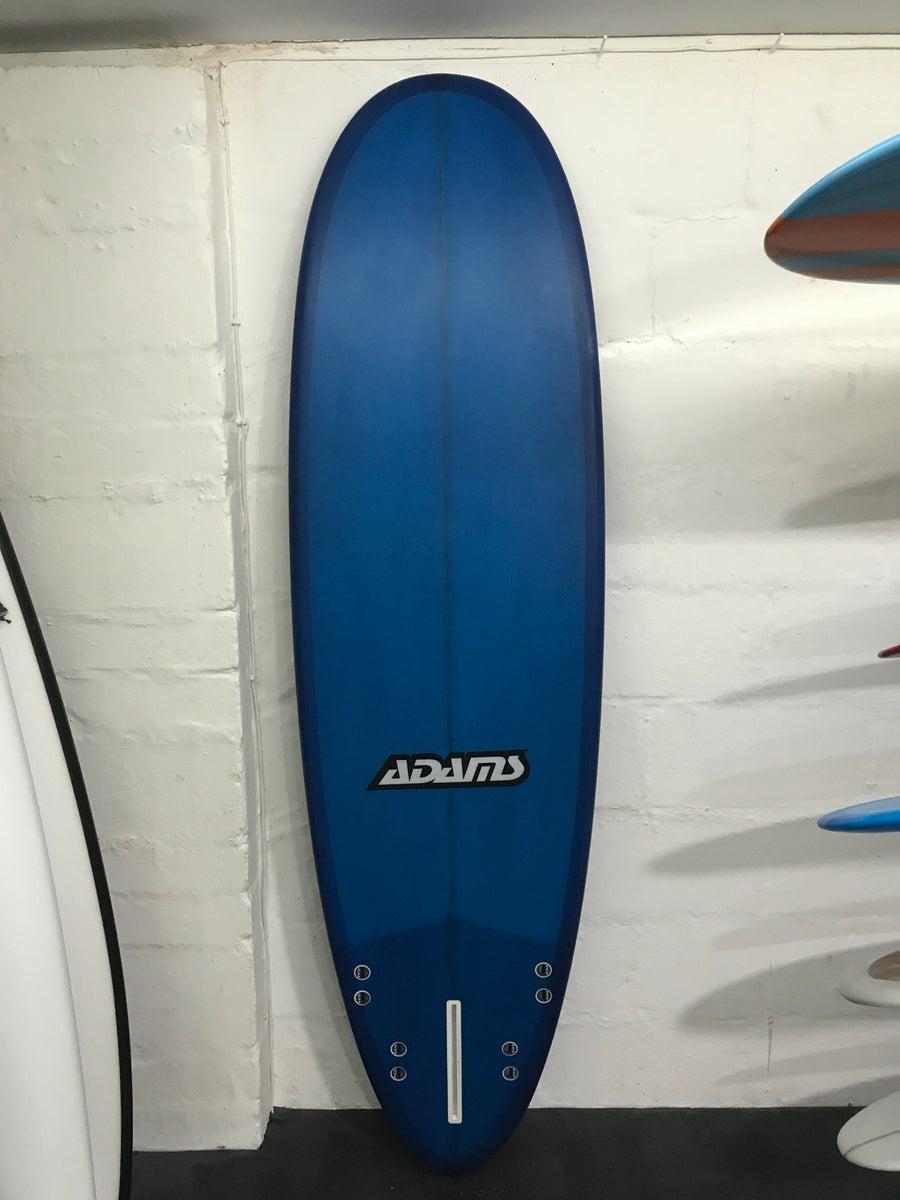 Image of ADAMS COBRA 6'10 x 22 x 3 BLUE RESIN TINT