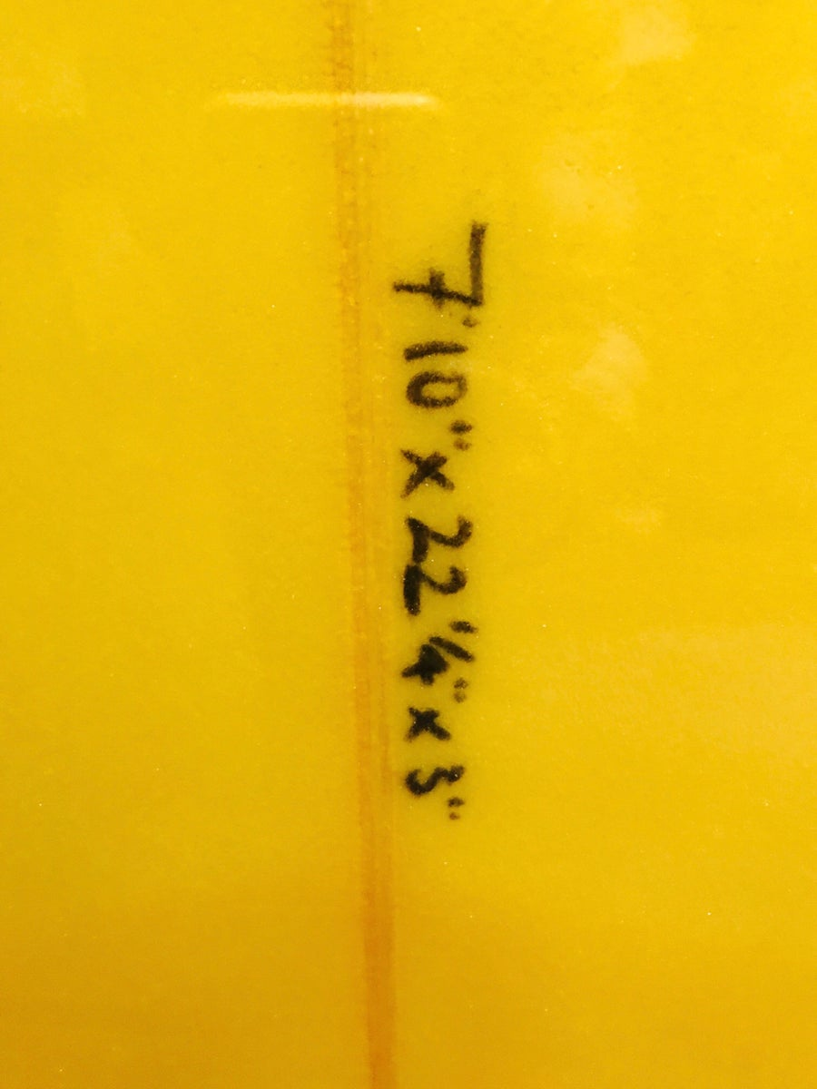 Image of ADAMS COBRA 7'10 x 22 1/4 x 3 Resin tint and gloss and polish