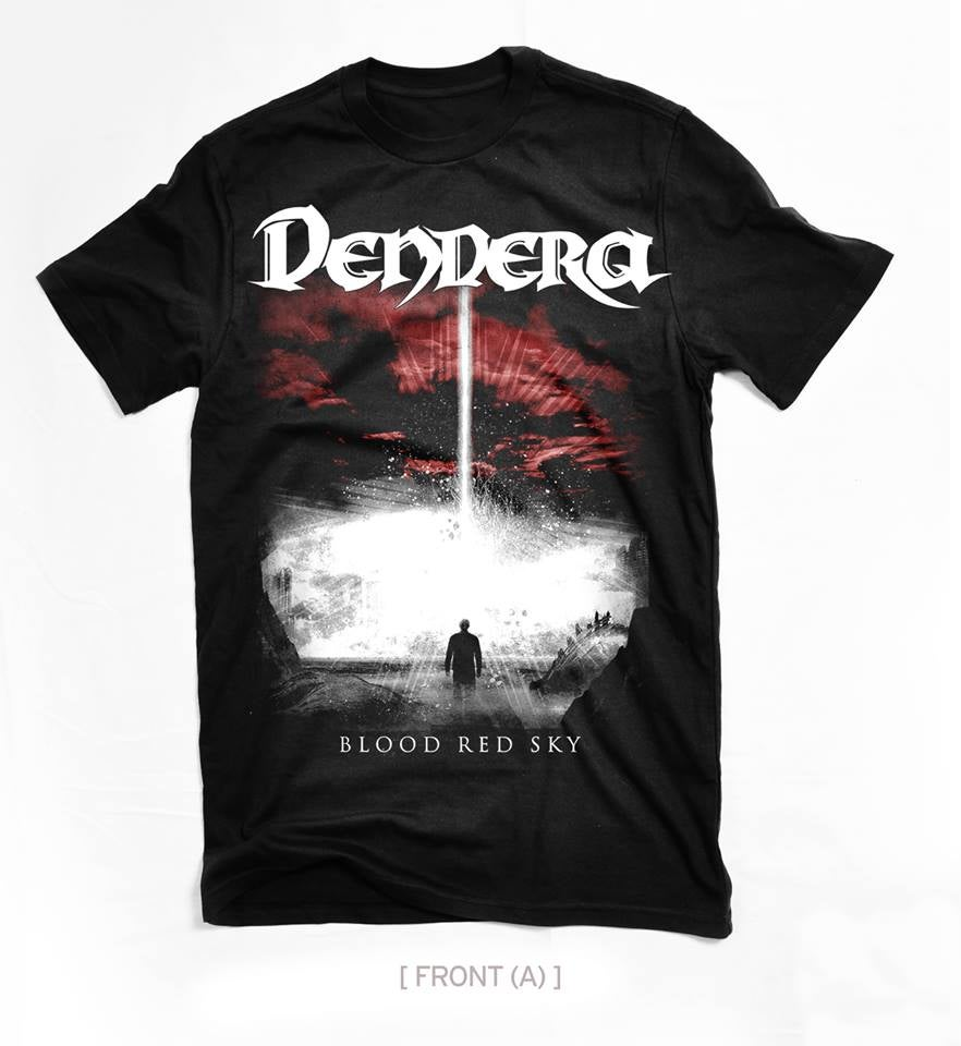 "Image of Dendera ""Blood Red Sky"" T-shirt"