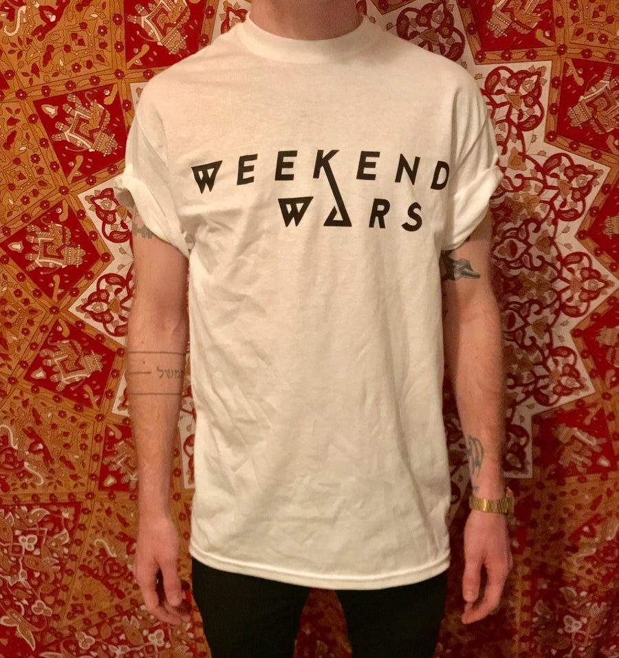 Image of WEEKEND WARS T SHIRT