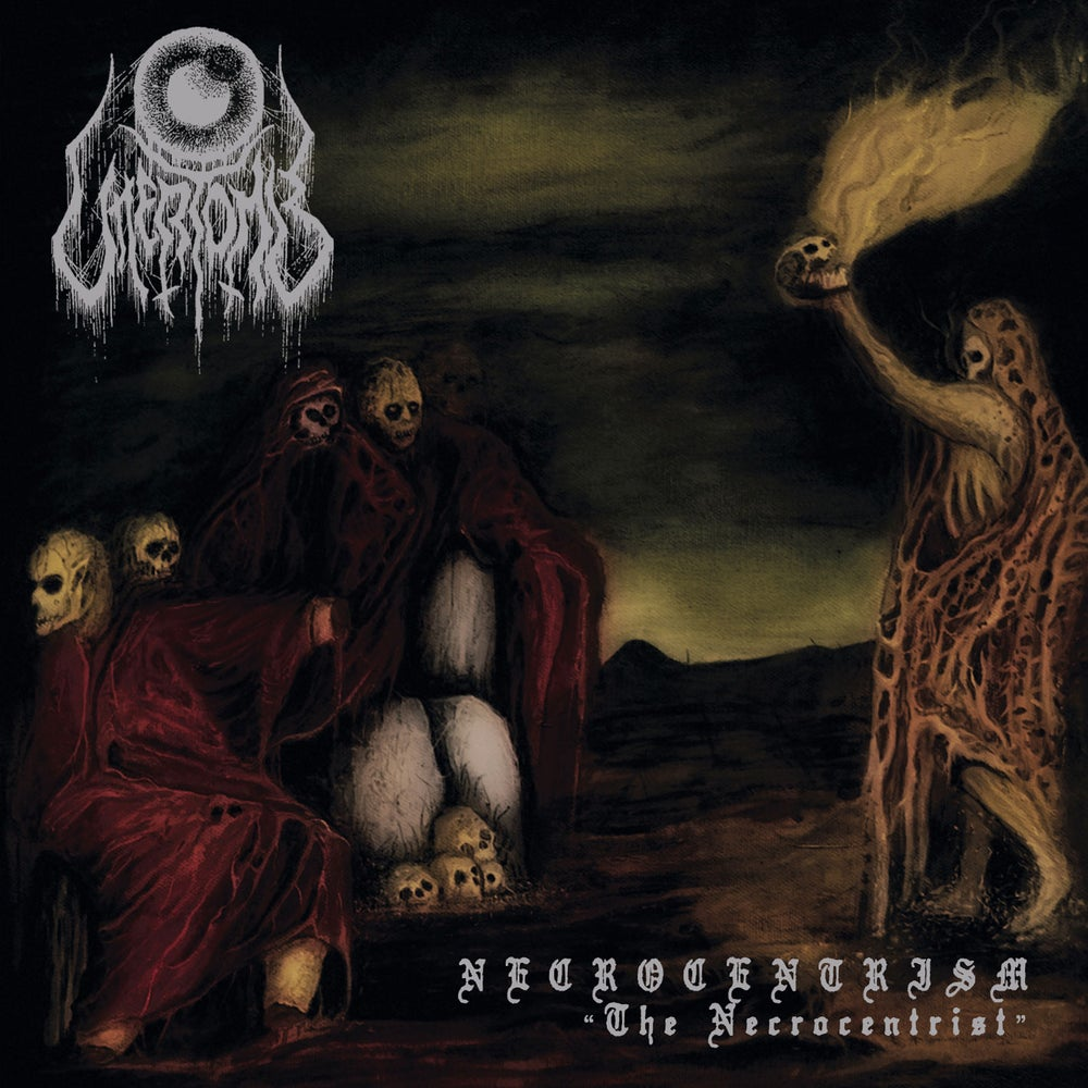 "Image of UTTERTOMB ""Necrocentrism: The Necrocentrist"" Mini CD"
