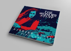Image of The Wonder Stuff Diaries '90-'91 - Signed by Miles Hunt