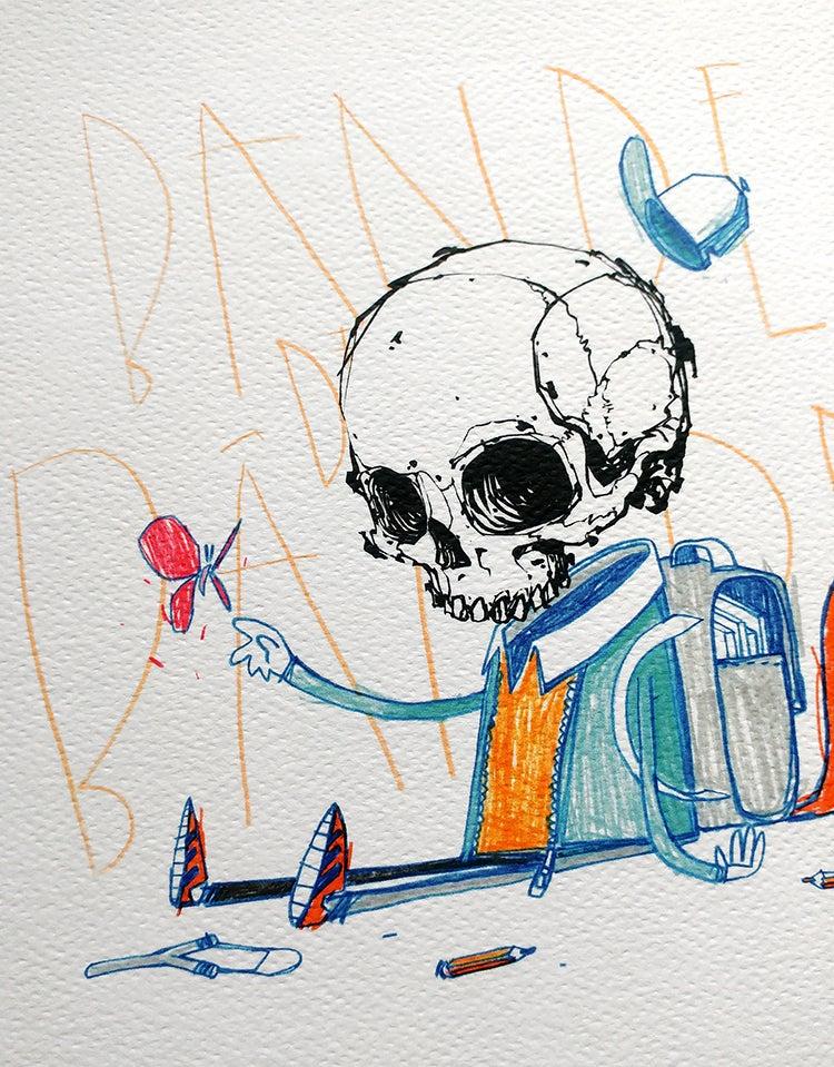 """Image of """"Bande de..."""" - print"""