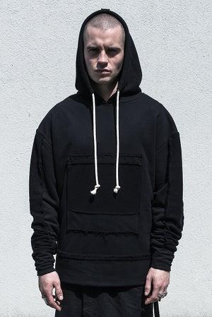 Image of U-F Mental Extended Hybrid Hoodie