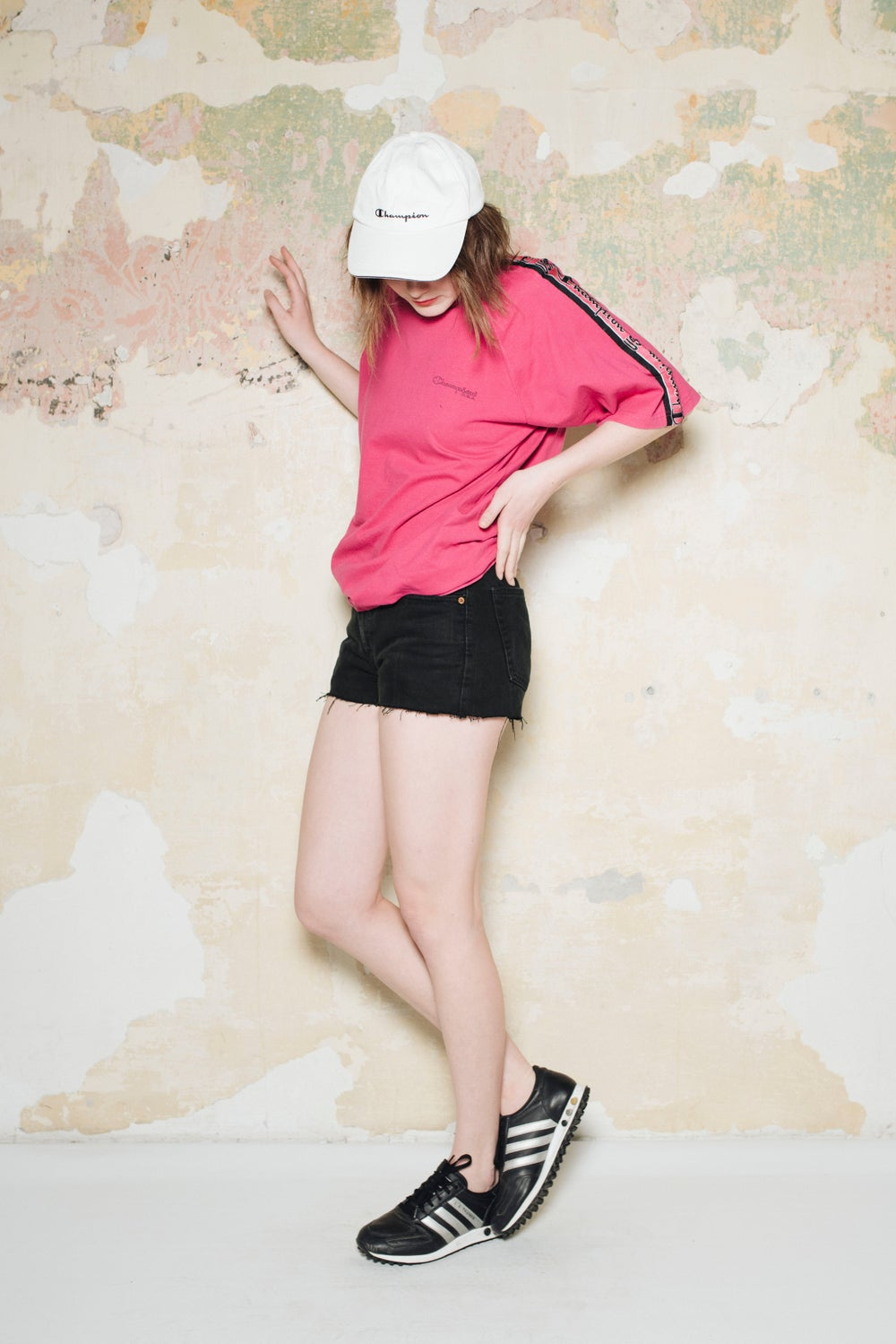 Image of Champion Pink 90's Tshirt