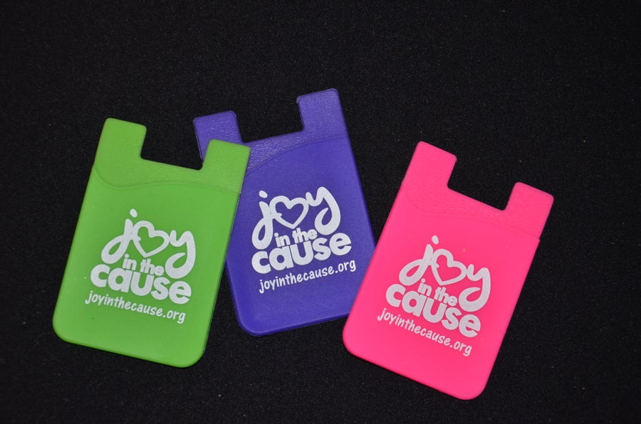 Image of Joy In The Cause Phone Card Holder