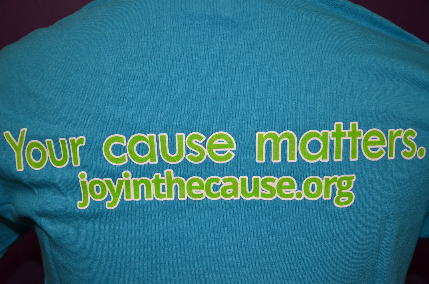 Image of Joy In The Cause T-Shirt TURQUOISE