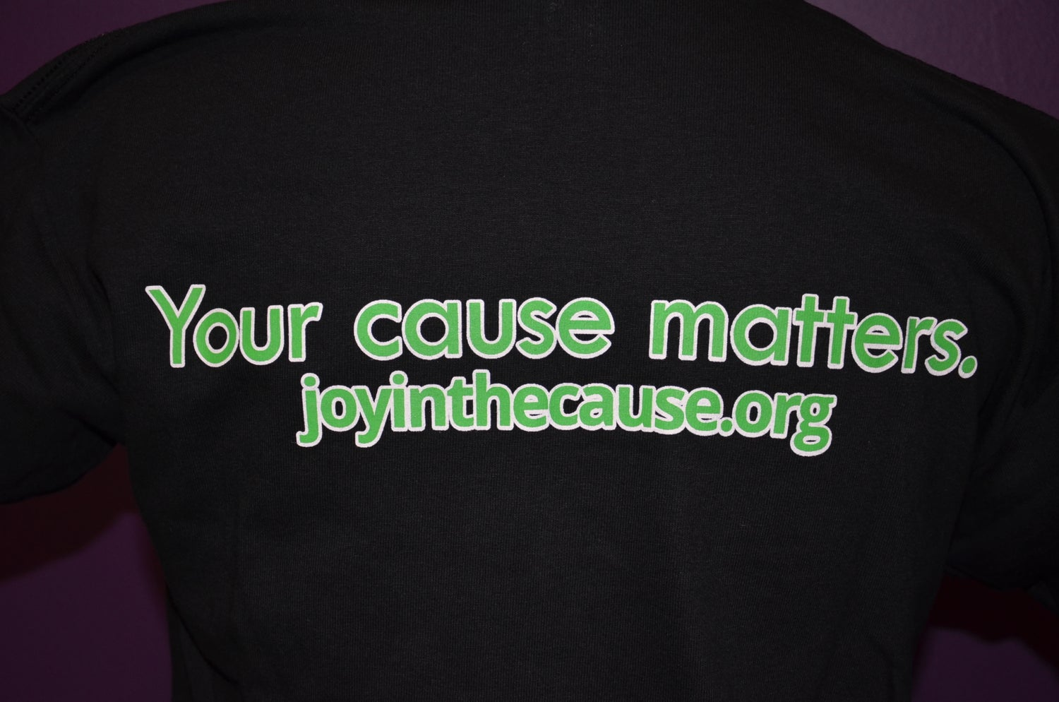 Image of Joy In The Cause T-Shirt BLACK