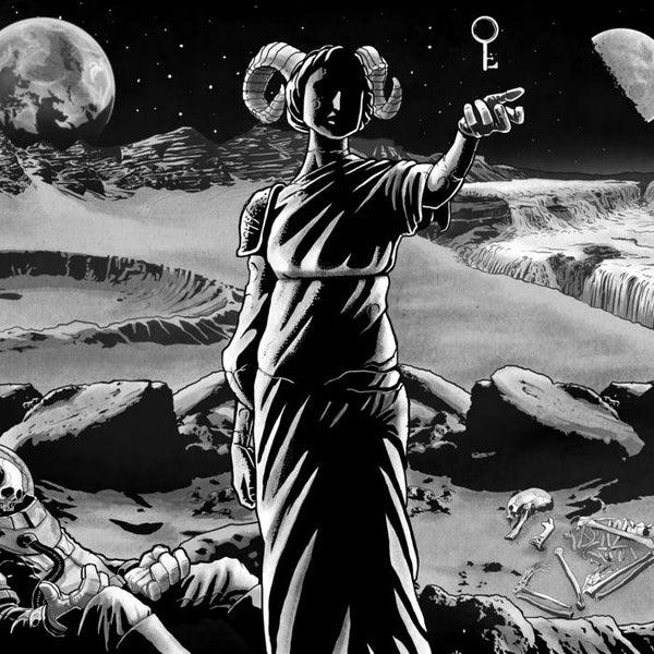 """Image of Burials / Exhausted Prayer (12"""" split, 1xLP)"""