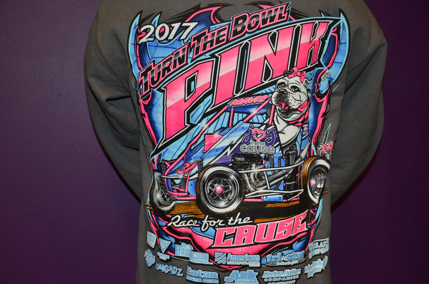 Image of VINTAGE: 2017 Chili Bowl Sweatshirt
