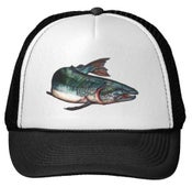 Image of Salmon Trucker Hat