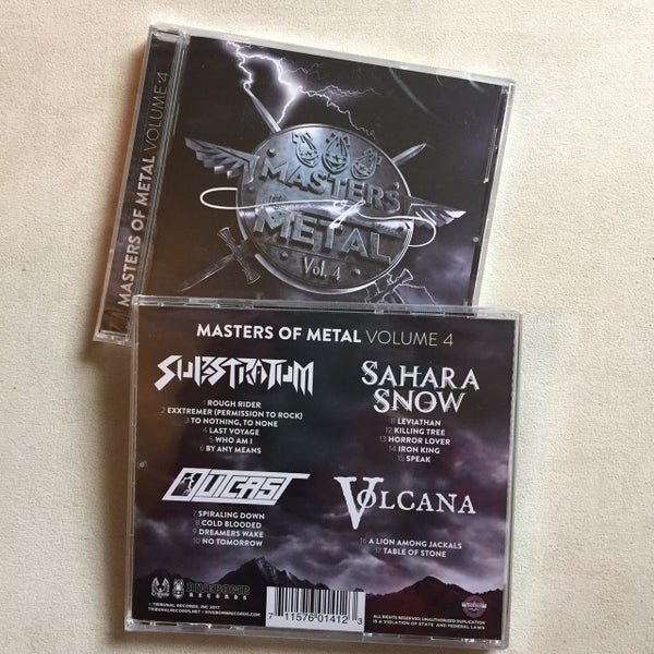 Image of Masters of Metal Volume 4