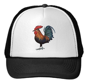 Image of Rooster Trucker Hat
