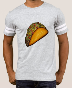 Image of Men's Gray Athletic Style Taco Shirt