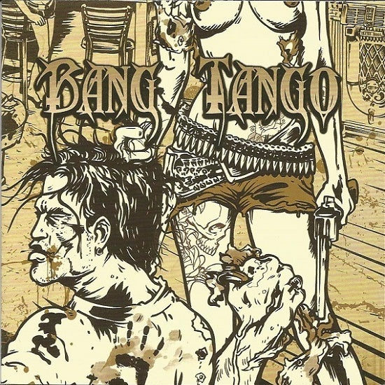"Image of Bang Tango ""Pistol Whipped In The Bible Belt"" CD (2011)"