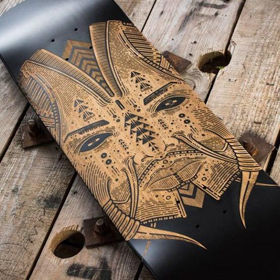 Image of germs - skateboard deck