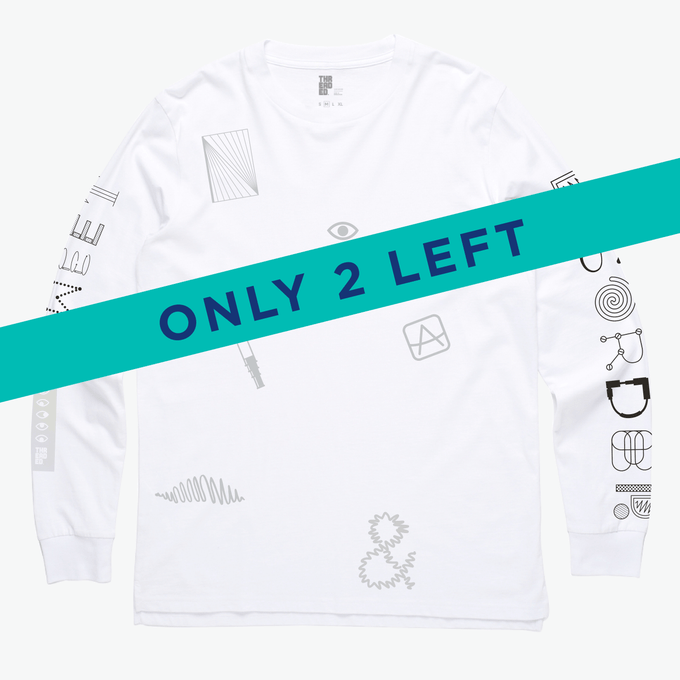 Image of 'Sweet Disorder' White Long Sleeve Tee