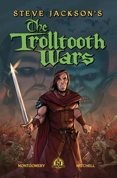 Image of Steve Jacksons The Trolltooth Wars