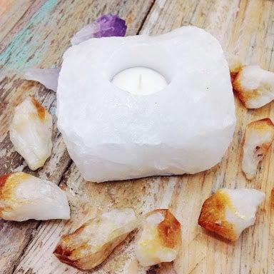 Image of Quartz Candle Holders |Shantique Designs|