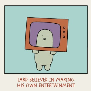 Image of GREETINGS CARD - 'Entertainment'
