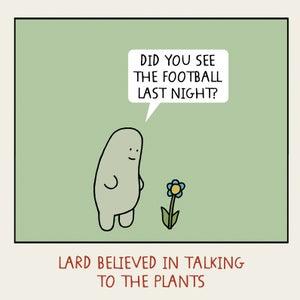 Image of GREETINGS CARD - 'Plants'