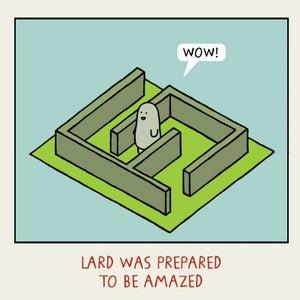 Image of GREETINGS CARD - 'Amazed'
