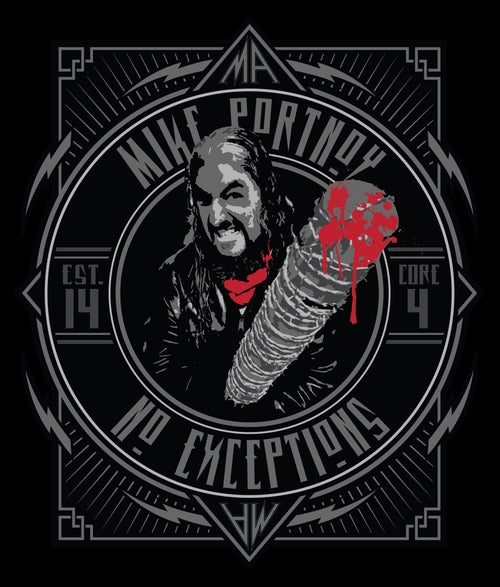 """Image of Mike Portnoy """"No Exceptions"""" T-Shirt"""