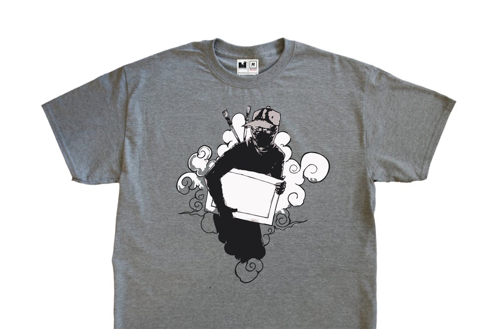 Image of Crime by Design Tee (Grey)