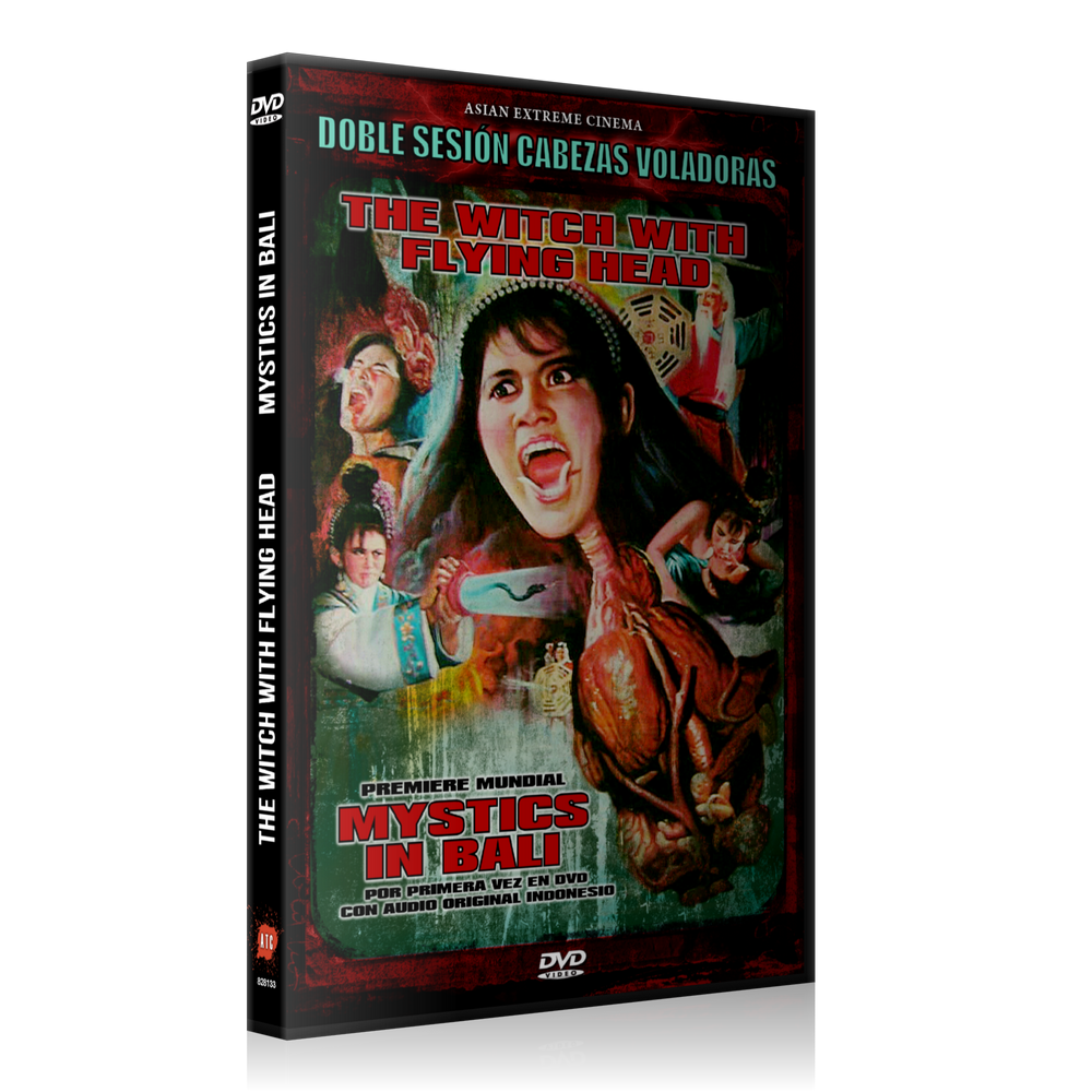 Image of The Witch with Flying Head + Mystics in Bali (2 DVD)