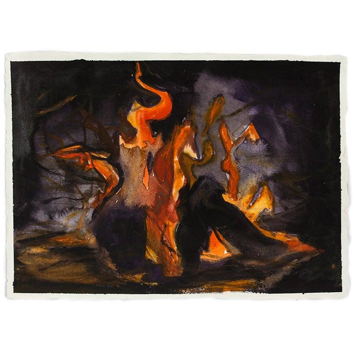 Image of SIMON SCHRIKKER Ring of Fire #2