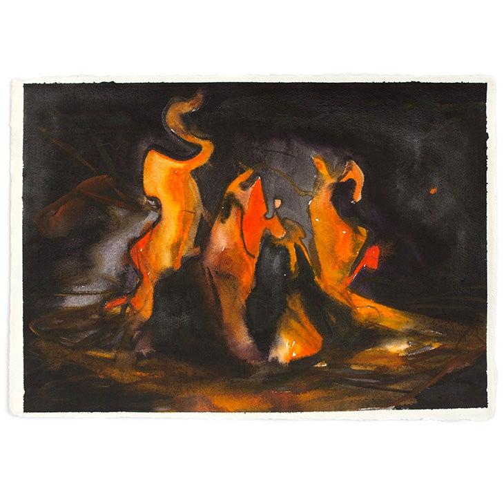Image of SIMON SCHRIKKER Ring of Fire #1