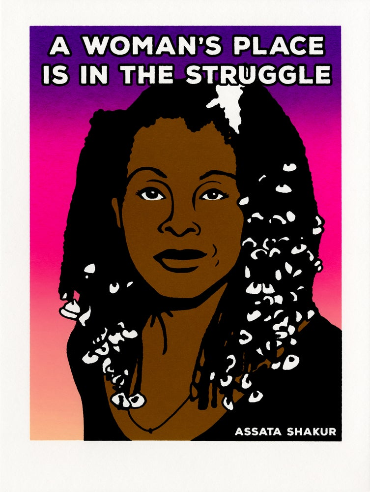Image of A Woman's Place is in the Struggle