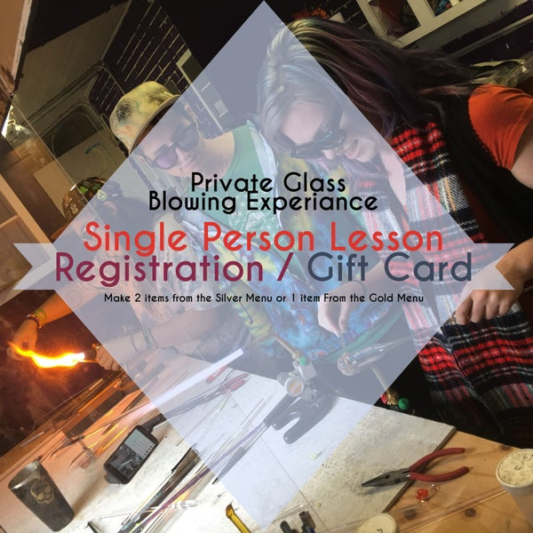 Image of Private Glass Blowing Experience For 1