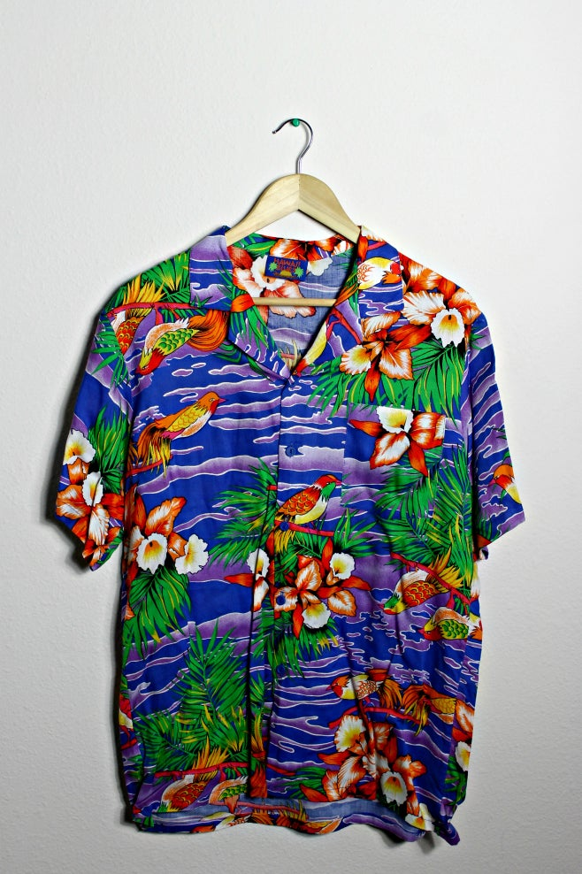 Image of Tropical Hawaiian shirt