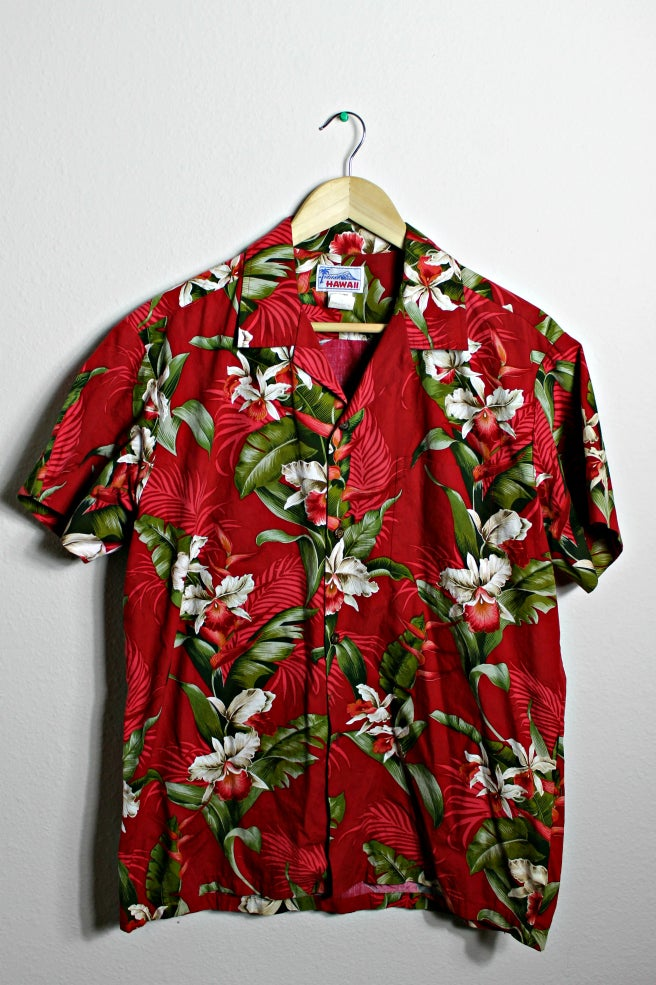 Image of Red Hawaiian Shirt