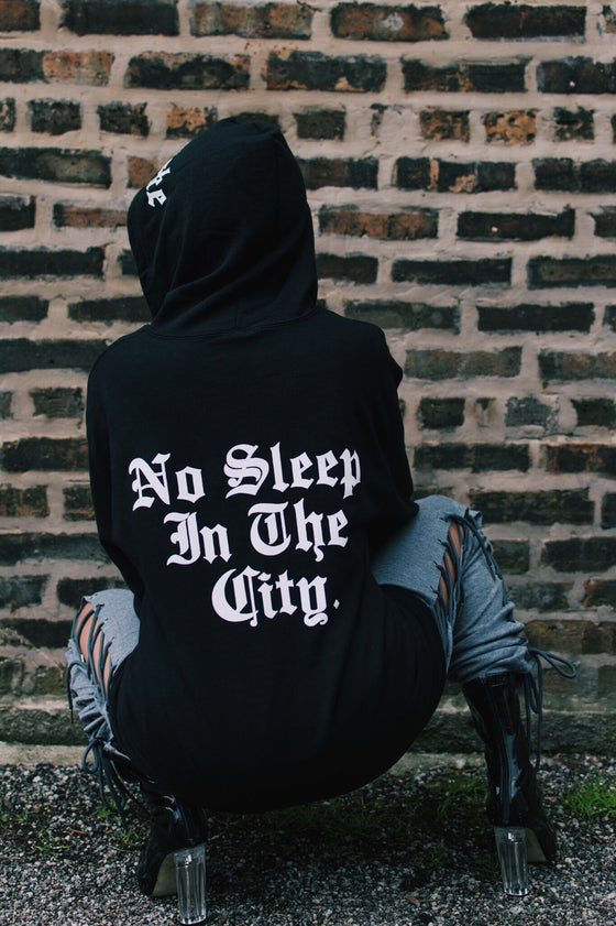 "Image of ""Stay Woke"" zip-up hoodie"
