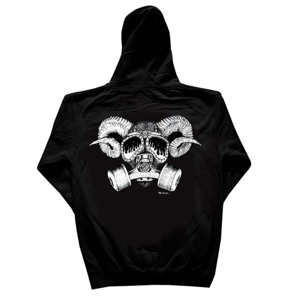 Image of Confusion - Goat Skull hoody [black]