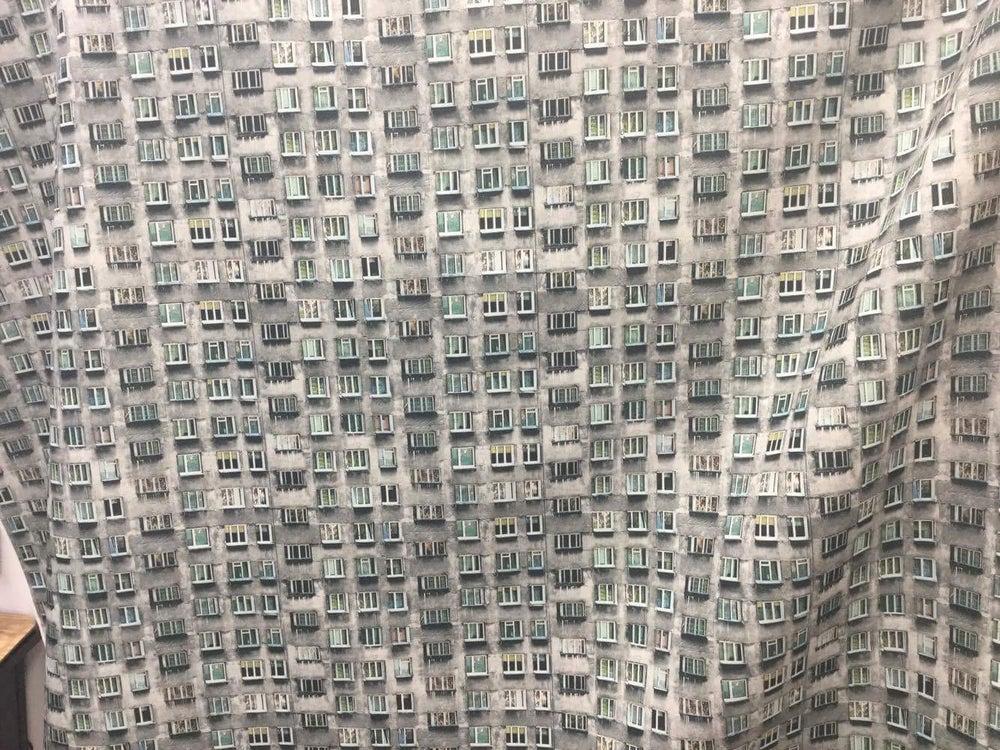 Image of Courtain classic block 250 x 100