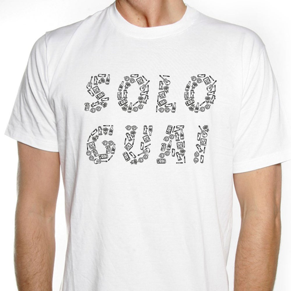 Image of Carl Brave x Franco126: SOLO GUAI White T-Shirt