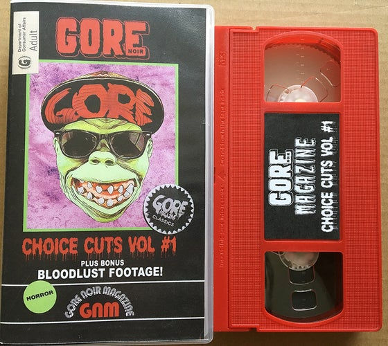 Image of Choice Cuts VOL #1 VHS Limited Edition of 20