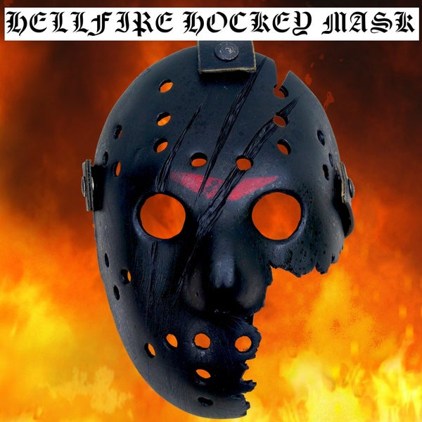 Image of HellFire Hockey Mask