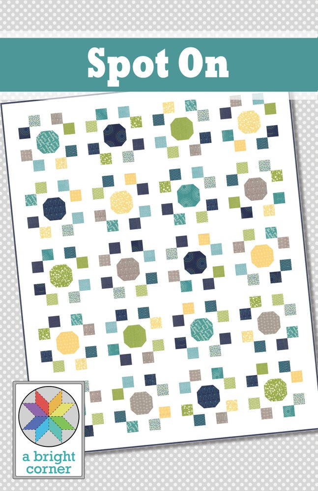 Image of Spot On Quilt Pattern - PAPER pattern
